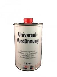 Weco GmbH Universalverdünnung, Kunstharz-, Chlorkautschuk-, Nitro- und Kombilacke, 1000 ml - Dose 21195