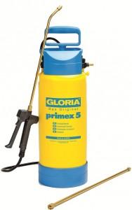 GLORIA Drucksprühgerät primex 5, stabiler Kunststoffbehälter, Füllinhalt: 5 Liter