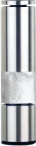 EMSA Accenta Würzmühle, Geeignet für Gewürze, getrocknete Kräuter und Salz, Edelstahl