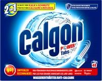 Calgon 2 in 1 Waschmaschinen-Wasserenthärter-Tabs, Für mittelhartes bis hartes Wasser , 1 Packung = 48 Tabs