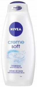 NIVEA® Body Cleansing Cremebad Creme soft, Erfrischendes Pflegebad, 750 ml - Flasche