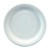 Papstar Pure Teller weiß extra stark, Durchmesser: 26 cm, 1 Packung = 25 Stück