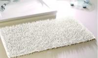 "Gözze Langfloor Teppich Metallic-Optik ""SHAGGY"", 60 x 100cm, 65% Polyester, 35% Baumwolle, Latex-Unterseitenbeschichtung, Farbe: petrol"