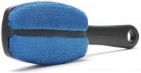 Brabantia Textilbürste, Mit ergonomischem Griff, Farbe: blau/grau