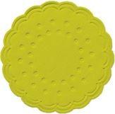 DUNI Tassen- und Glasuntersetzer aus Zellstoff, 8-lagig, Ø 7,5 cm, rund, kiwi, 1 Karton = 12 x 250 Stück = 3000 Untersetzer