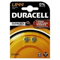 DURACELL LR44 Knopfzelle – 1,5 V, A76, KA76 V13GA, 1 Packung = 2 Stück