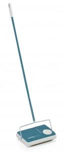 LEIFHEIT Teppichkehrer Regulus, kehrt ohne Strom und Kabel, mit 3 Kehrbürsten