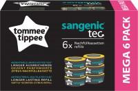 Nachfüllkassetten für Sangenic tec Windeltwister, Zitrus, Mehrschichtige Folie mit antibakteriellem Schutz, 1 Packung = 6 Kassetten