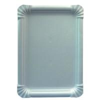 Papstar Pure Teller eckig weiß, 16,5 cm x 23 cm, 1 Packung = 25 Stück