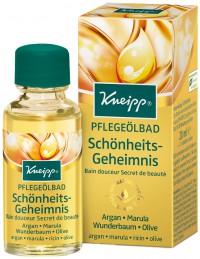 Kneipp® Pflegeölbad Schönheitsgeheimnis-Argan&Marula&Wunderbaum, Intensive Pflege für spürbar glatte Haut, 20 ml - Flasche
