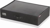 LEIFHEIT Unterbettkommode, klein, Passt mit nur 15 cm Höhe unter jedes Bett und auf jeden Schrank, Farbe: schwarz