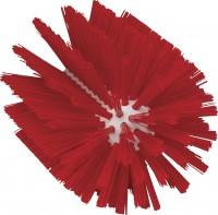 Vikan Rohrreiniger für Stiel, 103 mm, für die effektive Reinigung verschiedener Rohre, Farbe: rot