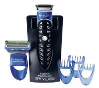 Procter & Gamble Service GmbH Gillette Fusion ProGlider Styler Rasierapparat, Trimmen, Rasieren und Konturen stylen, Rasierapparat mit Station und Wechselaufsätzen GI3423