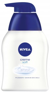NIVEA® Body Cleansing Flüssigseife, 250 ml - Dispenserflasche, Creme Soft