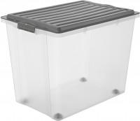 aufbewahrungsbox transparent mit deckel preisvergleich. Black Bedroom Furniture Sets. Home Design Ideas