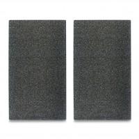 """Zeller Herdabdeck- / Schneideplatten """"Granit"""", Hygienisch und äußerst schnittfest, 1 Set = 2 Stück, Maße: 30 x 52 cm, Farbe: anthrazit"""