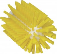 Vikan Rohrreiniger für Stiel, 77 mm, effektiv für die Reinigung verschiedener Rohre, Farbe: gelb