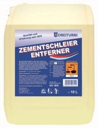 Dreiturm ZEMENTSCHLEIER- ENTFERNER, Zur Grundreinigung bei starken Verkrustungen, 10 l - Kanister
