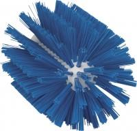 Vikan Rohrreiniger für Stiel, 103 mm, für die effektive Reinigung verschiedener Rohre, Farbe: blau