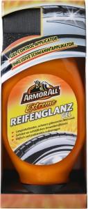 ARMOR ALL Extrem Reifenglanz Gel, Glanzgel für Autoreifen inkl. Schwamm, 530 ml - Flasche