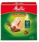 Melitta Haushaltsprodukte GmbH & Co. KG Melitta Rundfilterpapier 1 R 94 mm, braun, Aromatic Coffee Enjoyment, 1 Packung = 100 Stück 4006508204335