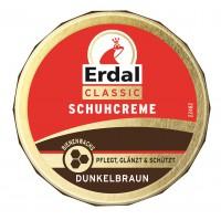 Erdal-Rex GmbH Erdal Schuhcreme Classic, mit echtem Bienenwachs, 75 ml - Dose, dunkelbraun 100112