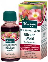 Kneipp® Gesundheitsbad Rücken Wohl - Teufelskralle, Wohltuend und entspannend für Rücken, Schultern und Nacken, 20 ml - Flasche