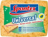 Spontex Universal Haushaltsschwamm, Dicker, saugstarker Viskoseschwamm, 1 Packung = 1 Schwamm