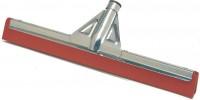 UNGER WaterWand™ Abzieher, verstärkt, rot, Moosgummi Doppellippe, rot, ölbeständig, Breite: 75 cm