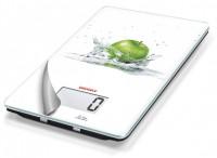 SOEHNLE Küchenwaage Mix & Match, digitale Glas-Waage, Muster: Fresh Apple