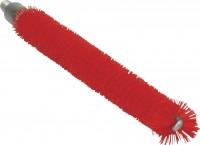 Vikan Rohrreiniger für flexiblen Stiel, 200 mm, für die Reinigung in der Lebensmittelindustrie, Farbe: rot