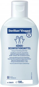 Bode Sterillium® Virugard, Hände - Desinfektionsmittel, 100 ml - Flasche (1 Karton = 45 Flaschen)