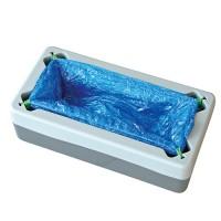 Hygonorm® Überschuhspender Easy-Box, Platz für 40 Überschuhe, passende PE Überschuhe, 1 Stück