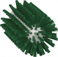 Vikan Rohrreiniger für Stiel, 77 mm, effektiv für die Reinigung verschiedener Rohre, Farbe: grün