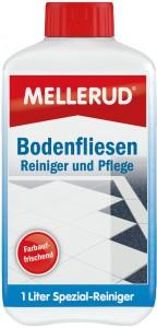 MELLERUD Bodenfliesen Reiniger und Pflege , Sorgt für frische Farbe und Glanz, 1000 ml - Flasche