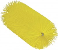 Vikan Rohrreiniger für flexiblen Stiel, 65 mm, für den Einsatz in Molkereien, Weingütern usw., Farbe: gelb